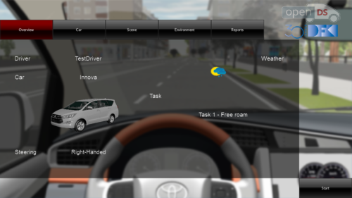 OpenDS – …the flexible open source driving simulation